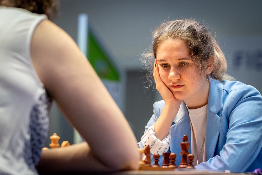 test Twitter Media - Another comeback: Shuvalova won the second game against Dzagnidze. They will continue fighting in the tiebreaks for a spot in the Quarterfinals of the Women's #FIDEWorldCup. https://t.co/SIVFR90h4K