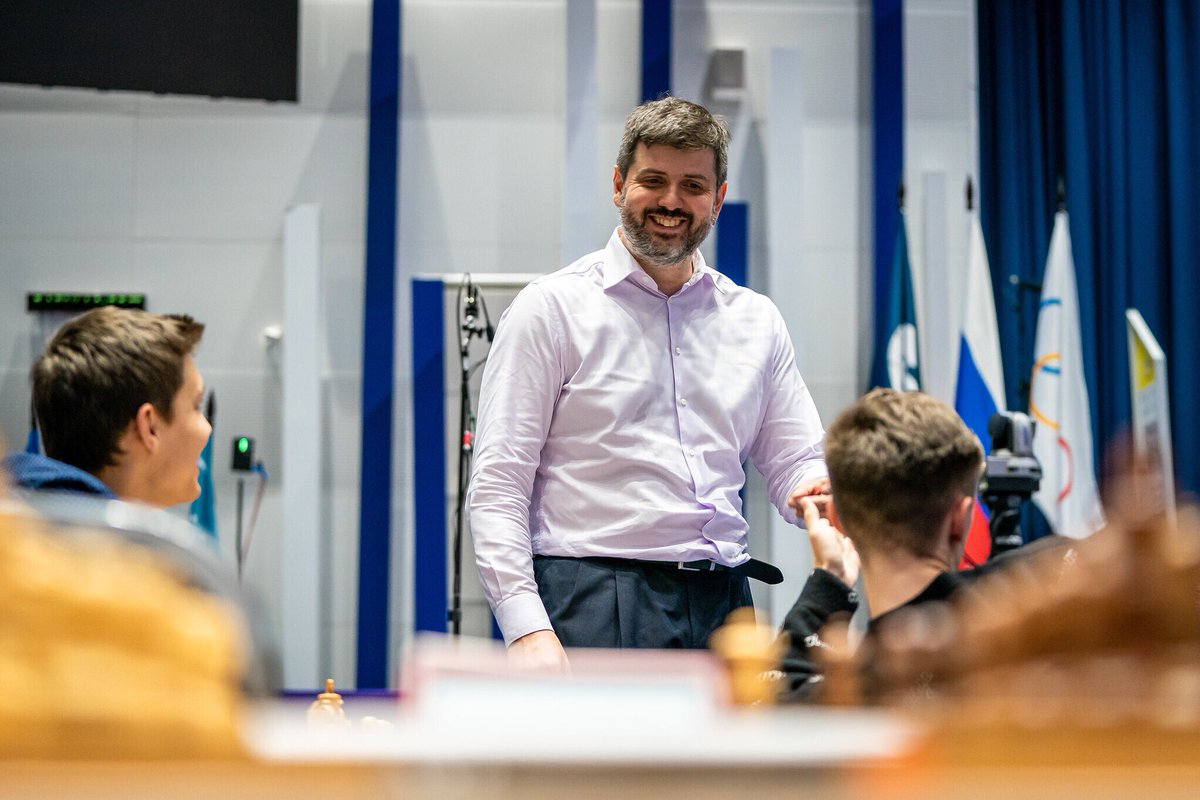 test Twitter Media - Etienne Bacrot, Alexander Grischuk, Peter Svidler and Kateryna Lagno won their tiebreaks and advanced to Round 5 of the #FIDEWorldCup https://t.co/zqDPCRbOig