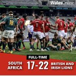 RT @thebscg: Congratulations to the Lions.  Great win. #LionsTour2021 #Lions https://t.co/VtpjFh1fkX
