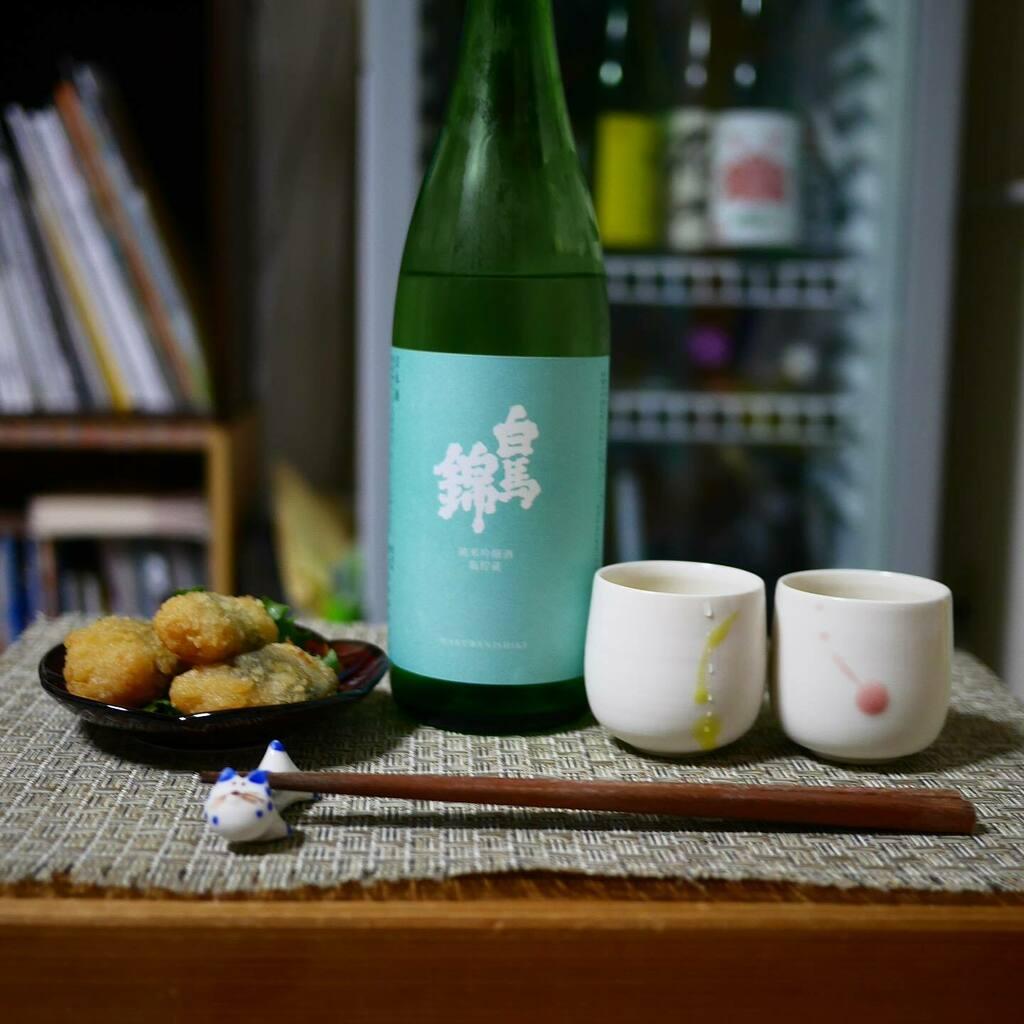 test ツイッターメディア - 白馬錦を鶏しそ巻き揚げとともに。 Hakubanishiki with chicken tempura. #白馬錦 #長野 #今宵堂 #月見猪口 #カネコ小兵 #sake #nagano #kanekokohyo https://t.co/24ESP6VuJF https://t.co/NhU8mce9hg