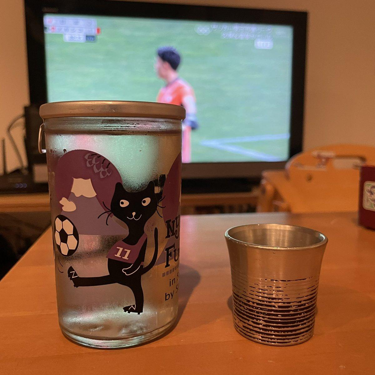 test ツイッターメディア - にゃんかっぷ ふじえだ 志太泉酒造 純米吟醸 #サッカー https://t.co/kLvIExaNq5