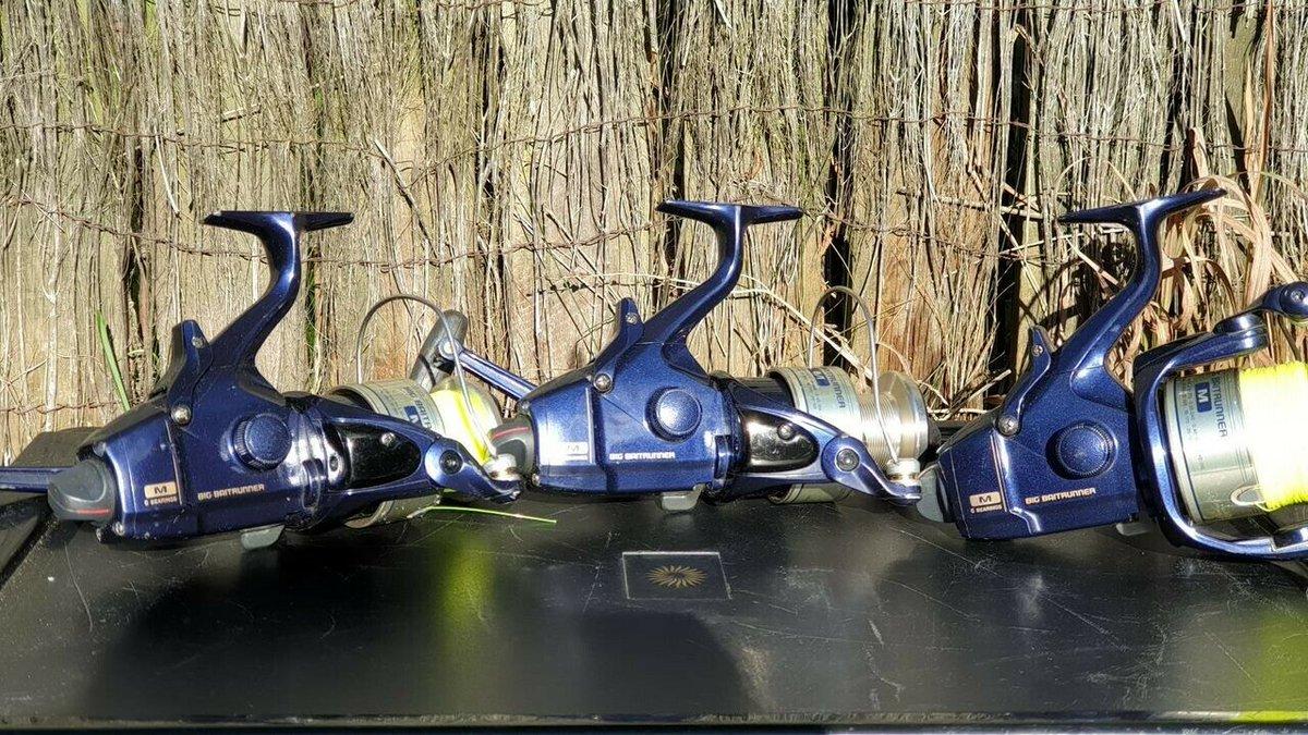 Ad - 3x Shimano Baitrunner Medium Blue M On eBay here -->> https://t.co/SijWz2dtwf  #carpfishi