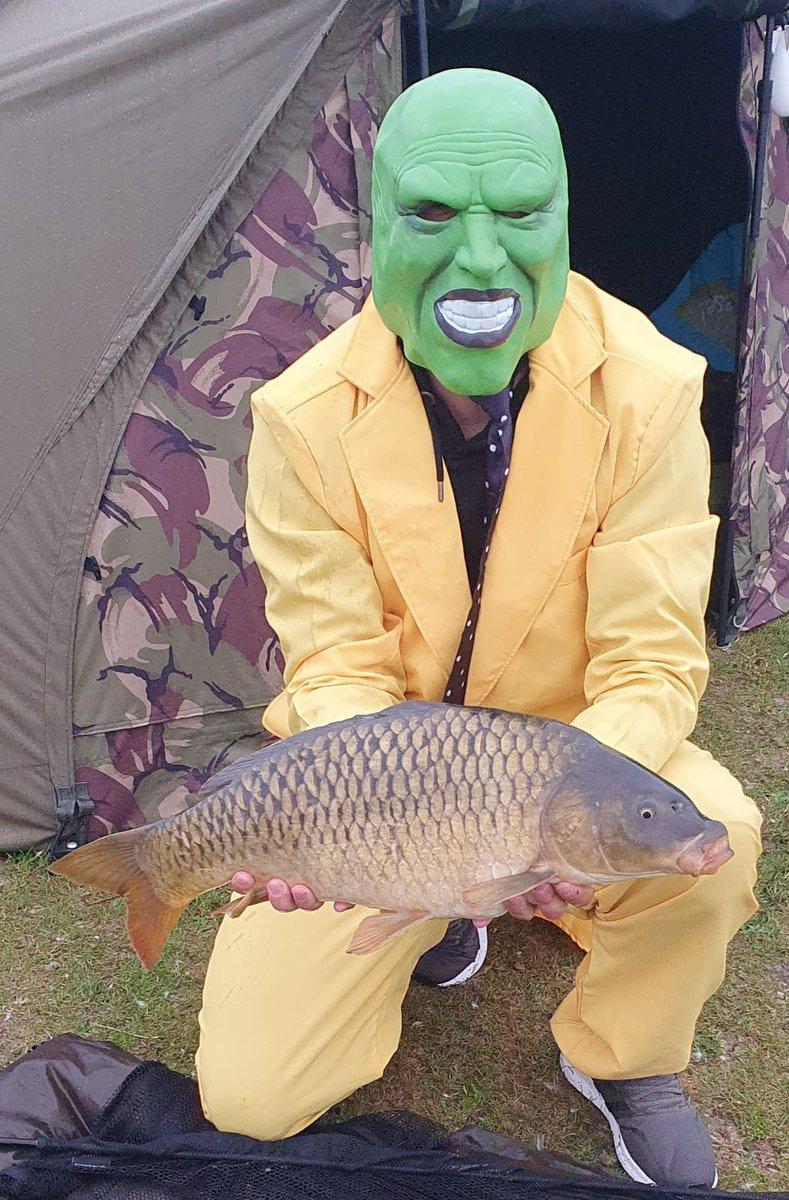 One fish this <b>Weekend</b> #carp #carpfishing #mask https://t.co/ribaWqmx8O
