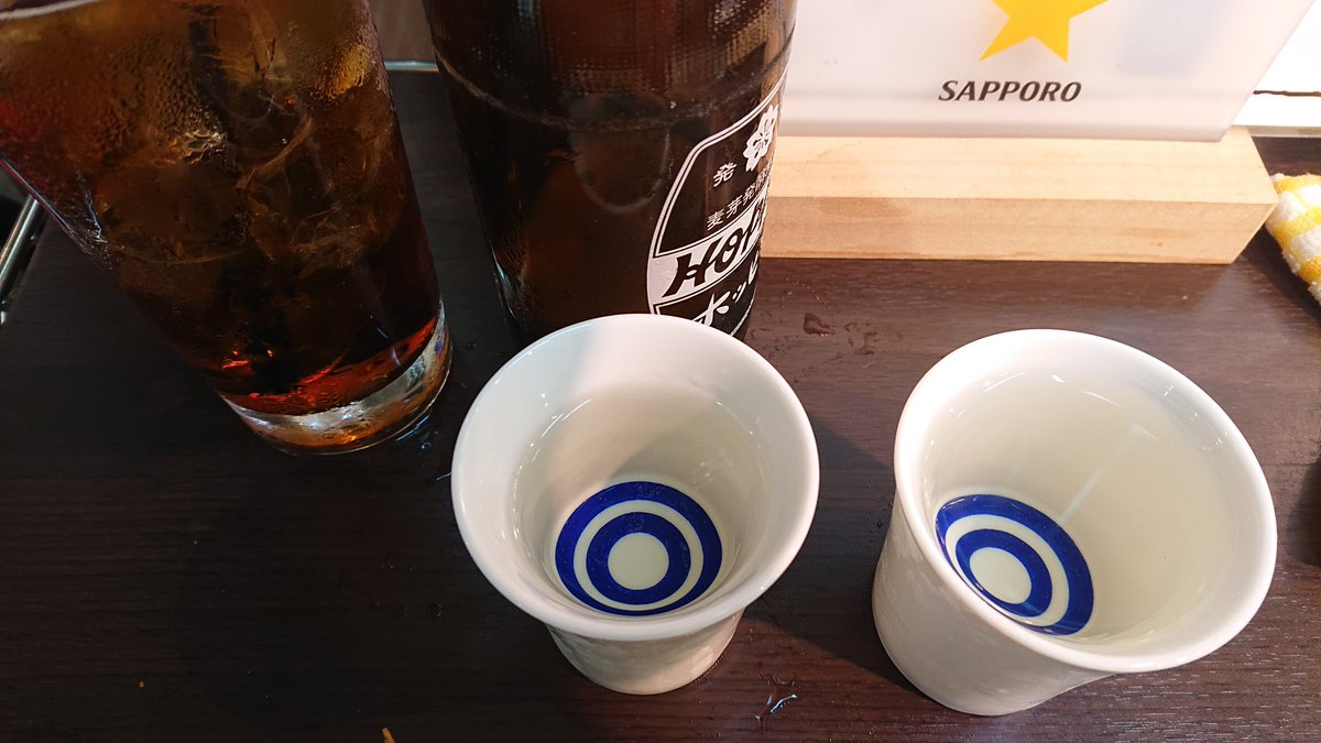 test ツイッターメディア - 日本酒好きだけど、ダイエットのために最近飲んでなかった(´Д`) 青森の田酒とシークレットの名古屋のお酒、めっちゃ美味い! ホッピーはチェイサーw #晩酌 https://t.co/EOE1Fw24zG