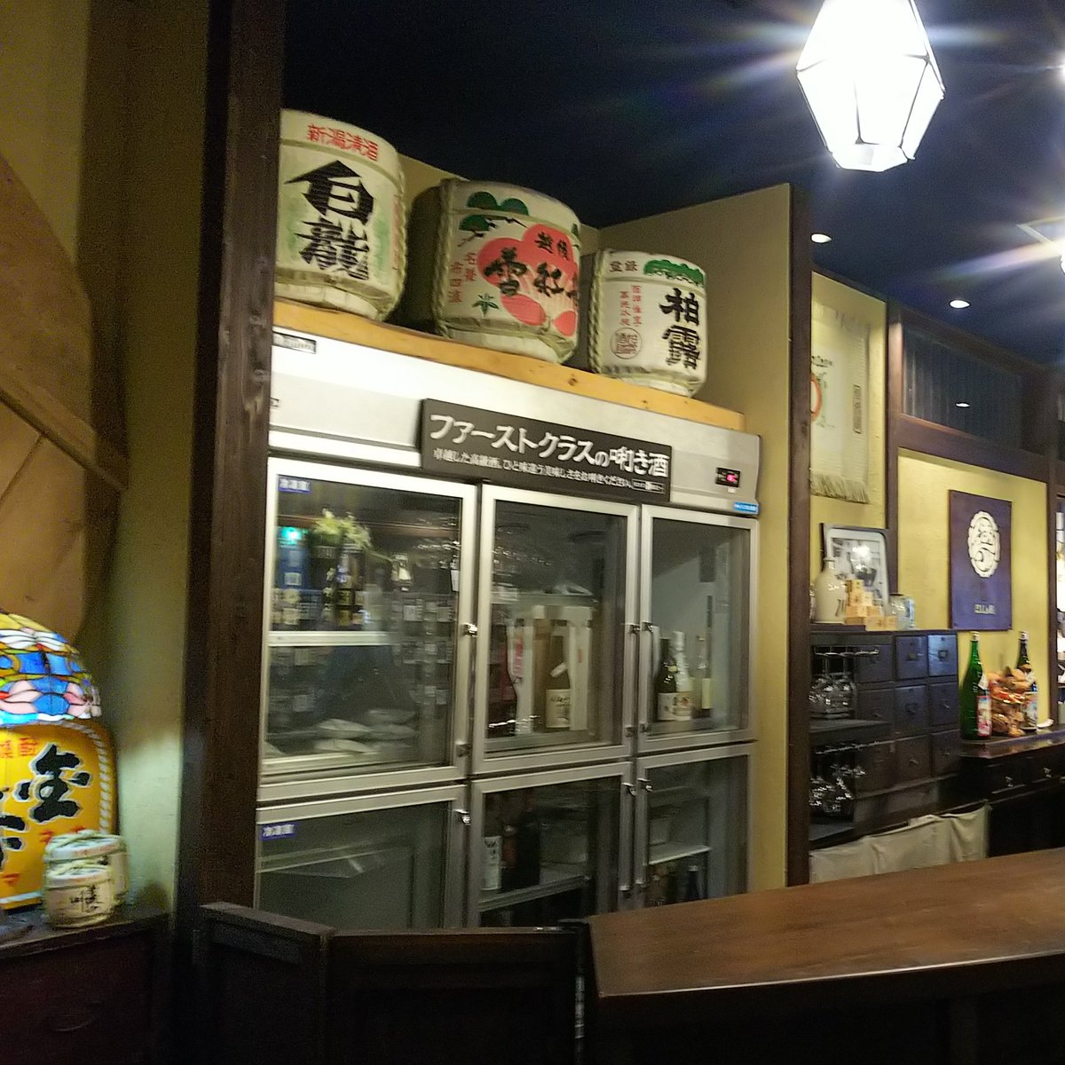test ツイッターメディア - @__pn_c 新潟出身なんですが実はあまり日本酒詳しくなくて💦〆張鶴の純とか、あまり関東じゃ見かけない銘柄がいいかもです😌あと3杯分の価格でレアな日本酒も試せますよ! https://t.co/LJlCnA7aZG