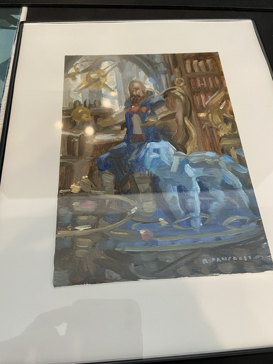 test Twitter Media - The Mordenkainen color study showed up today! I have it in a temporary frame will post the final once it's all done. Super excited 😆   Thank you @rpancoast_art for this beautiful piece.  Thank you @VorthosMike for facilitating.  #mtgart #MTGDND https://t.co/sVeLI7FiXb