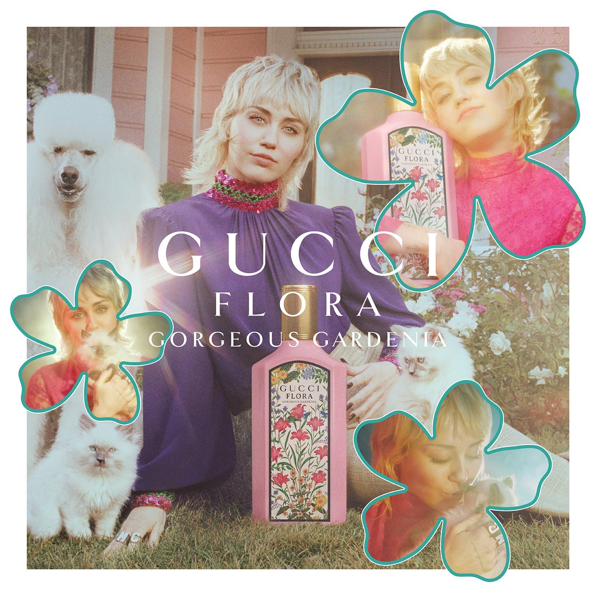 The time has come! So happy to show you Gucci Flora Gorgeous Gardenia's fanciful world! #FloraFantasy @GucciBeauty https://t.co/AhcbzvuujO