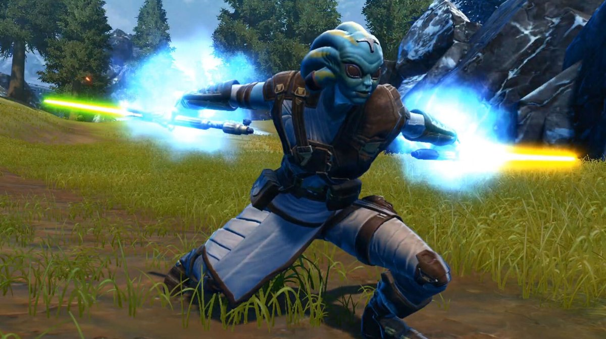 test Twitter Media - Our Public Test Server is now available for players to take a first look into the updated Combat Style for the Jedi Sentinel. https://t.co/GDktiKHZx7 https://t.co/BLoBLLqosc