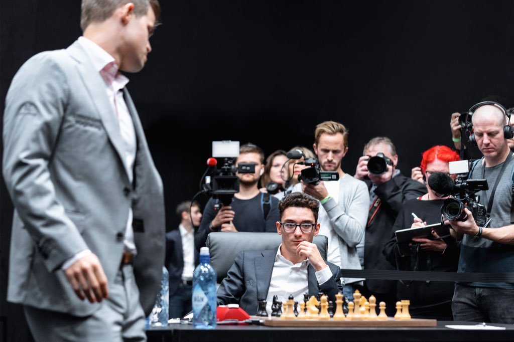 test Twitter Media - In 2016 he was the runner-up to Sergey Karjakin in the Moscow Candidates Tournament. 2 years later, in the Berlin Candidates, he did one better and earned the right to a World Championship match against Magnus Carlsen, which ended in a 6-6 tie (Magnus won on tiebreaks). https://t.co/Hiv74ewutE