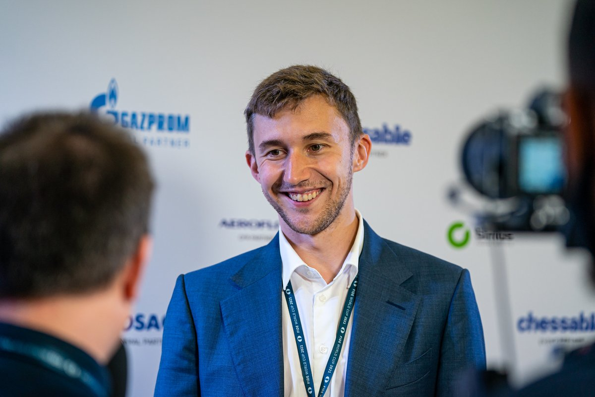 """test Twitter Media - """"I won many games where I had to make a comeback. Somehow I am just concentrating on playing chess. There is no special secret... The only thing I can say is that I try to fight until the end."""" - Sergey Karjakin right after qualifying to the Semifinals.  https://t.co/RHHyWKMUn3 https://t.co/IdVXYcfkXa"""