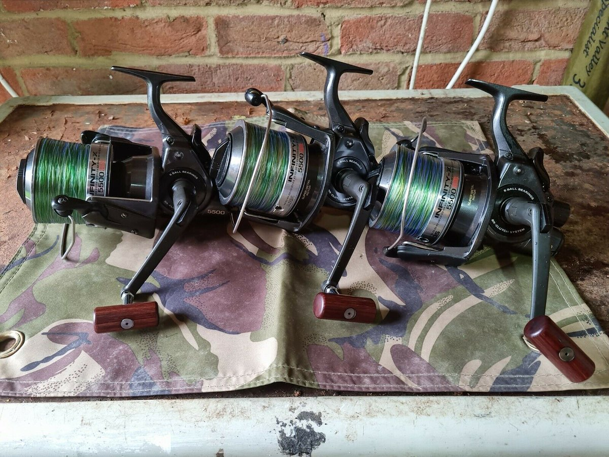 Ad - Daiwa Infinity BR5500 Reels On eBay here -->> https://t.co/ZXDhYDyt15  #carpfishing #fish