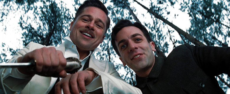 Brappy birthday to @bjnovak, one of the greats, pictured here with his friend Brad Pitt https://t.co/2GHepKBJH6