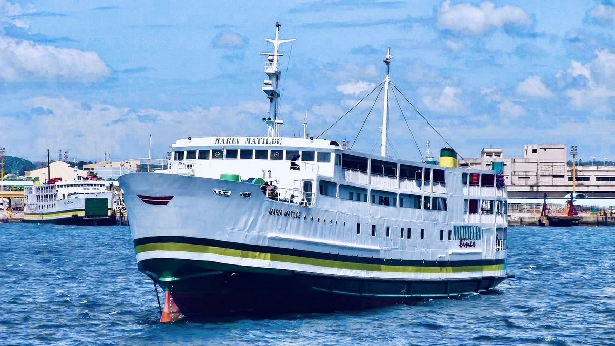 test ツイッターメディア - MV Maria Matilde 元 九州商船 フェリー五島  フィリピンバタンガスで撮影。  現在でも活躍中! https://t.co/0329YYrLqT