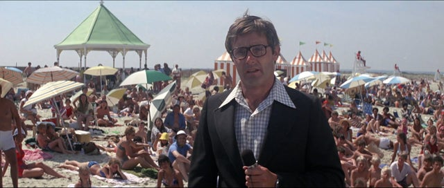 The news reporter in JAWS is played by Peter Benchley, who wrote the book the movie is based on.. https://t.co/2QW8aZUZaG