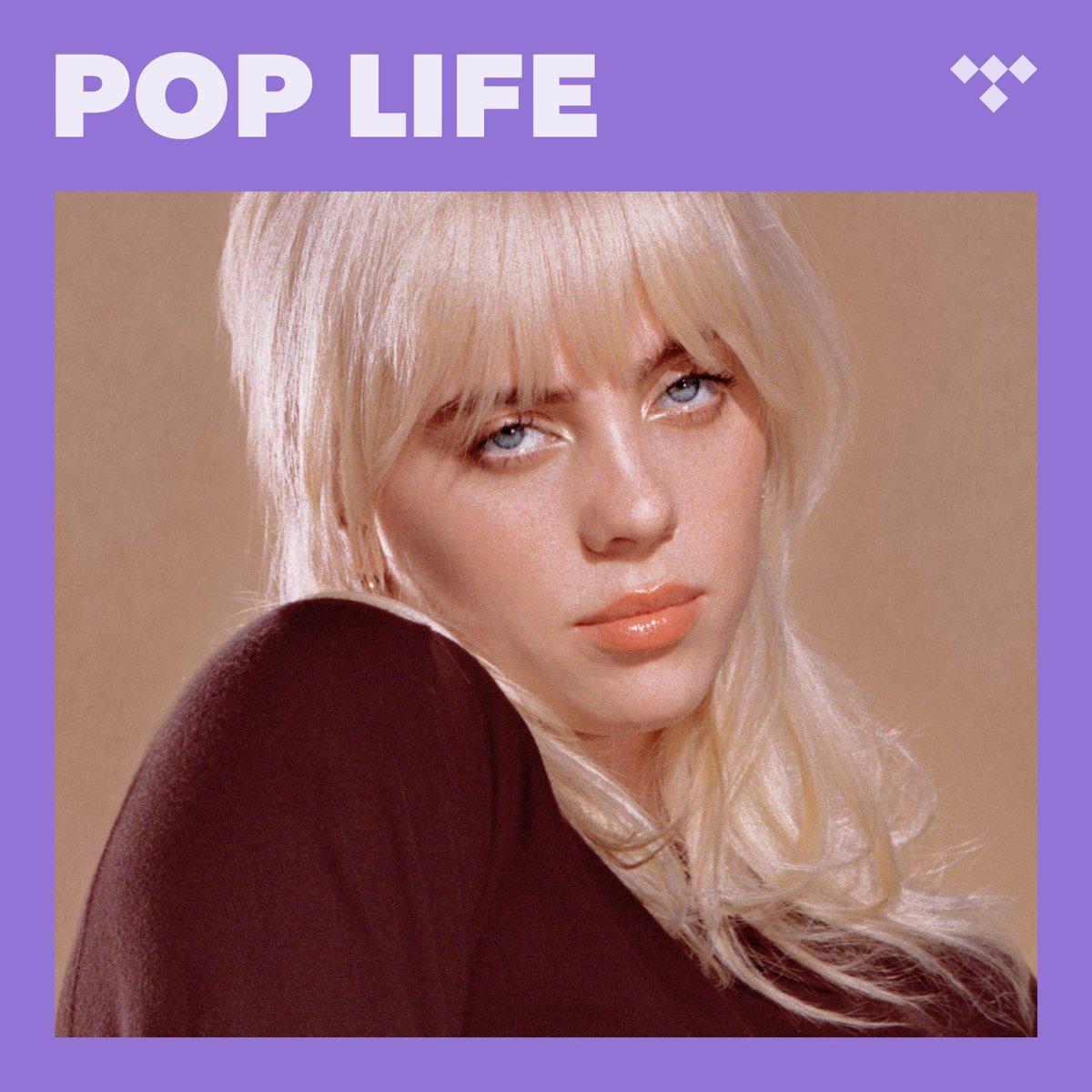 "Billie Eilish - ""Happier Than Ever"" Listen now on @TIDAL's Pop Life playlist. https://t.co/srNLoazqDu https://t.co/iiFt4FzdiY"