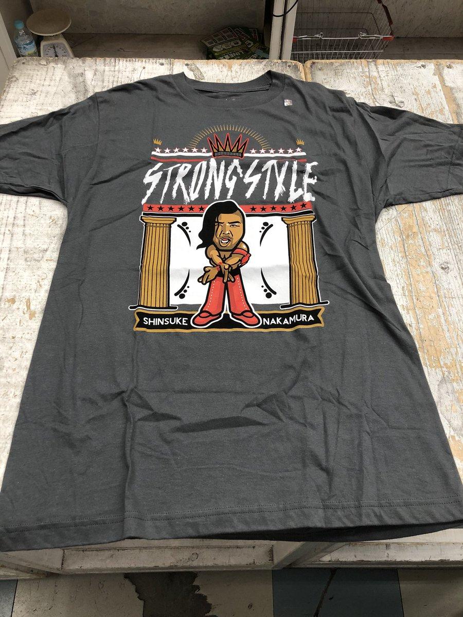 test ツイッターメディア - プロレスTシャツ大量入荷させていただきました! まずは中邑真輔選手のKING OF STRONG STYLE イラストTシャツ! イラストめっちゃかわいい。 サイズはMサイズになります  #njpw  #新日本プロレス  #プロレス  #中邑真輔 https://t.co/lPwdyTuRbJ