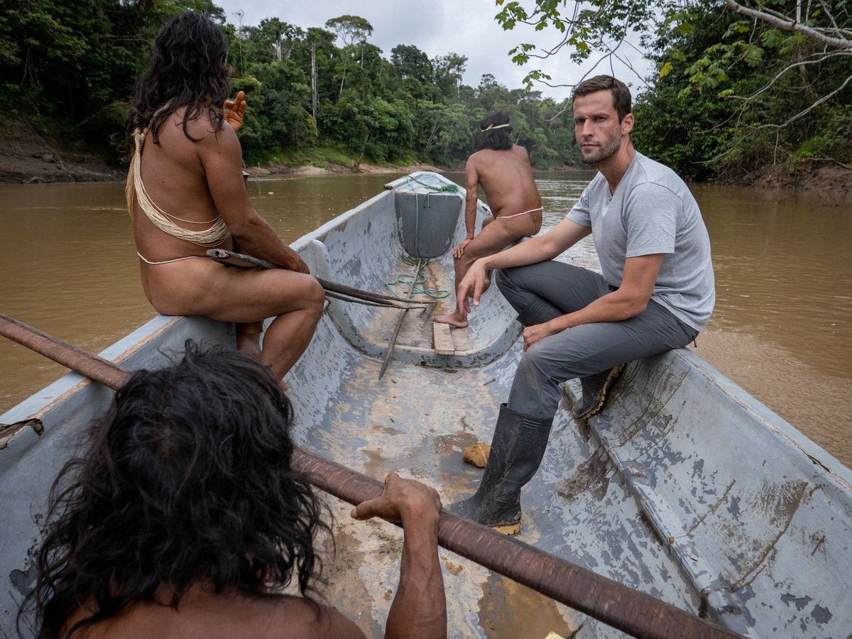 Can you believe its the FINAL episode of #UnknownAmazon tomorrow?!  Join @pedroandradetv has he travels to the Ecuadorean #Amazon to see how one indigenous group is dealing with the influences of the modern world while fiercely protecting their cultural identity. Tues 10p @VICETV https://t.co/p9fiJq8beD
