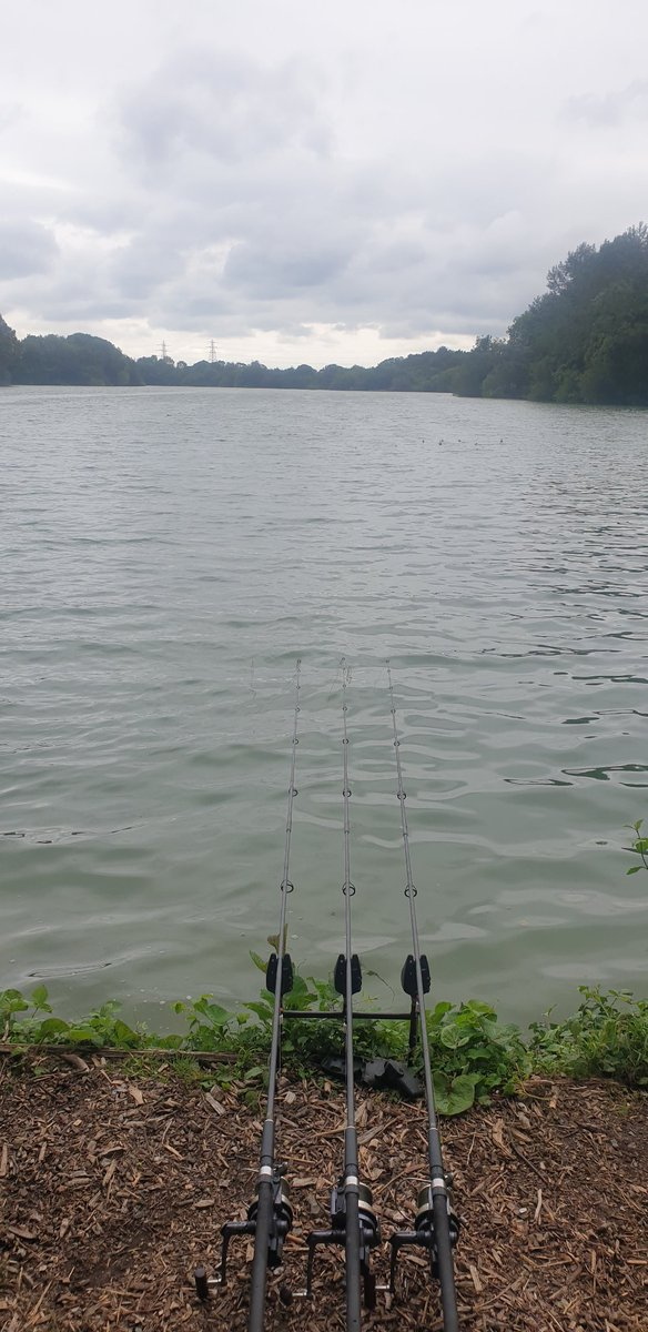 Top conditions to<b>Night</b>,  feels like Autumn,  couldn't resist it..#carpfishing https://t.co/As