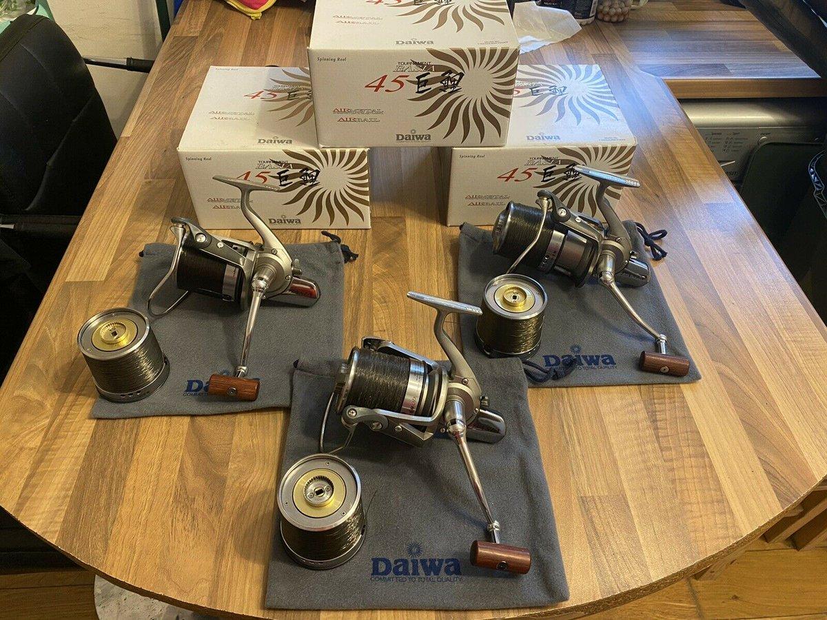 Ad - Daiwa Basia Tournament 45 QDX x3 On eBay here -->> https://t.co/vSVYqoFluP  #carpfishing
