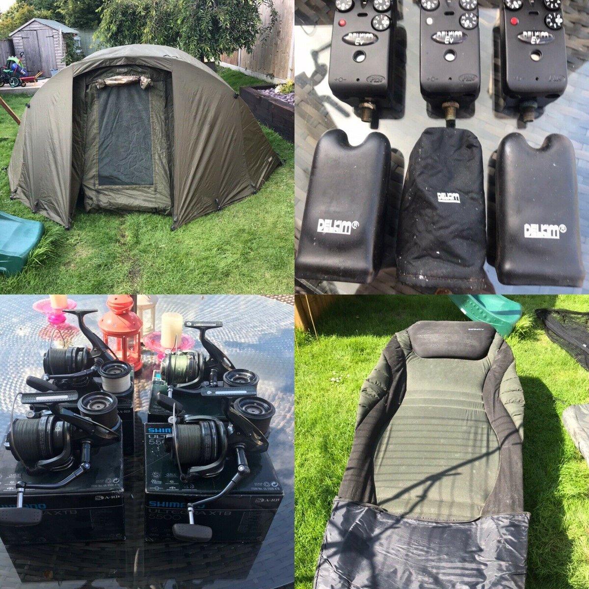 Ad - Carp Fishing Set Up Job Lot For Sale On eBay here -->> https://t.co/E8OC1GeAEP  #carpfish