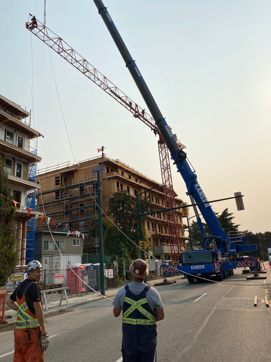 test Twitter Media - Our Chelsea Marine site in Vancouver is moving along nicely! The 2nd crane dismantle and Building 2 roof framing is complete. #CPADevelopmentConsultants #VancouverAffordableHousing https://t.co/2wHe5WuGob