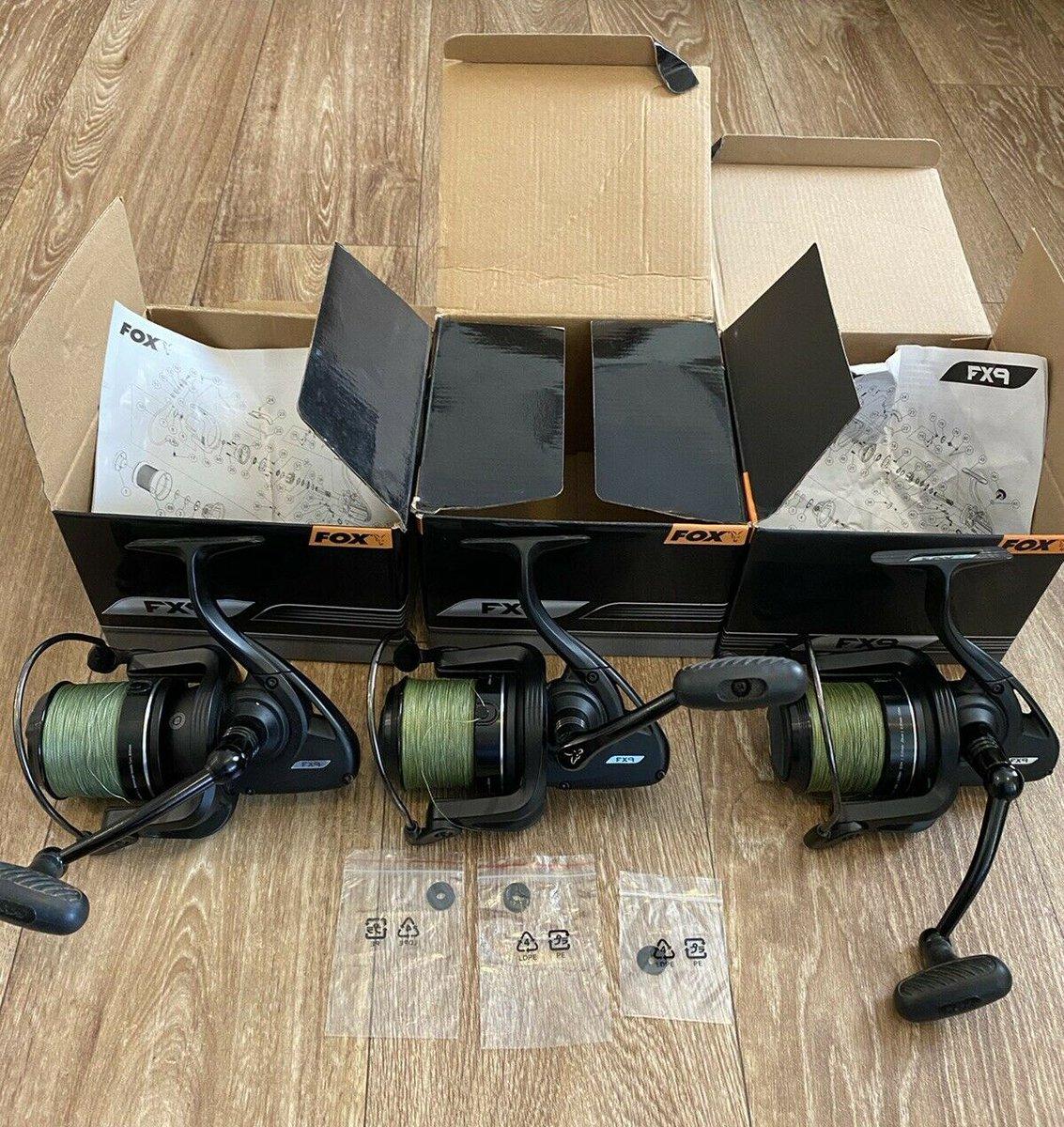 Ad - Fox FX9 Carp Fishing Reels x3 On eBay here -->> https://t.co/TzOWasX8lc  #carpfishing #fi