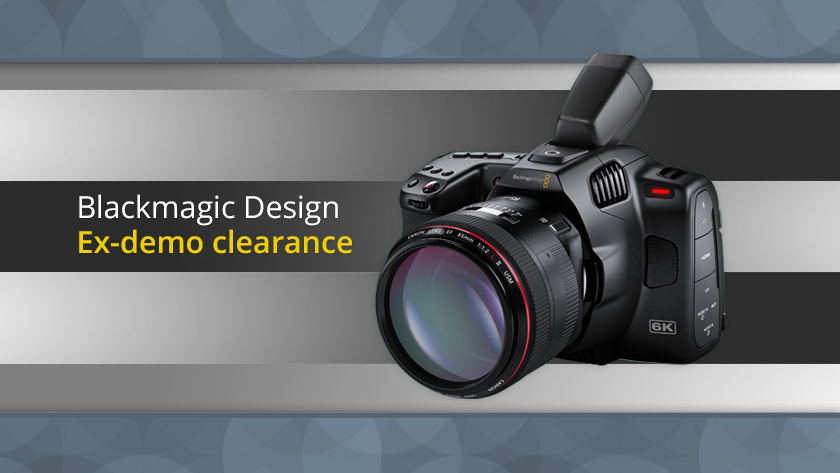 Looking for a great deal on Blackmagic Design products? Have a look at our ex-demo items. There are only a few units available and they will likely go quickly. Full list of currently available items and prices at the link below: