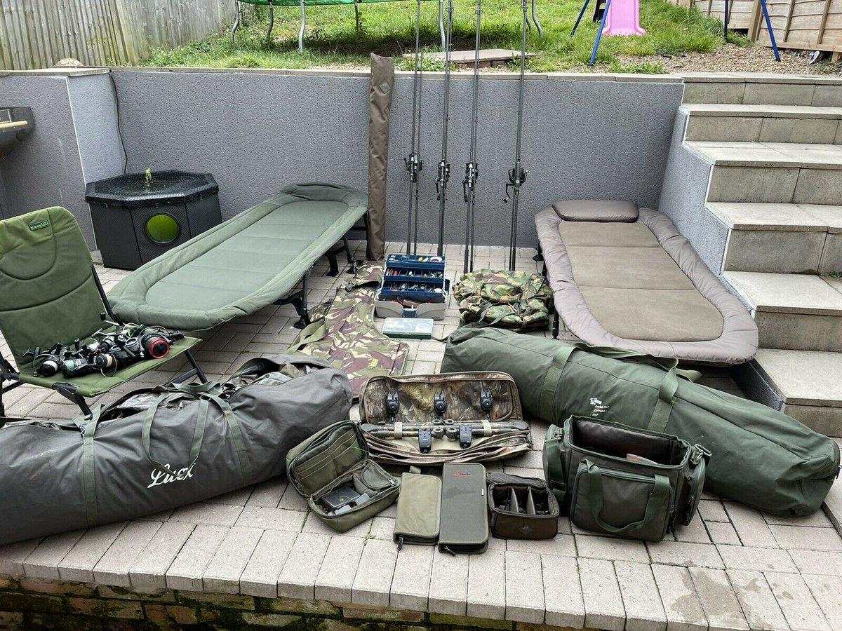 Ad - Carp Fishing Set Up For Sale On eBay here -->> https://t.co/U416STWwWo  #carpfishing #fis