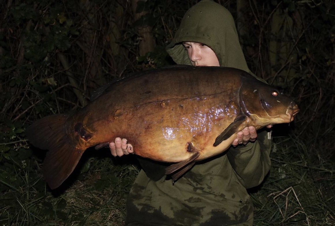 New member Charlie, 17, is straight among them. He had a 27 then this 28. Nice one! #<b>Bigcarp</b>