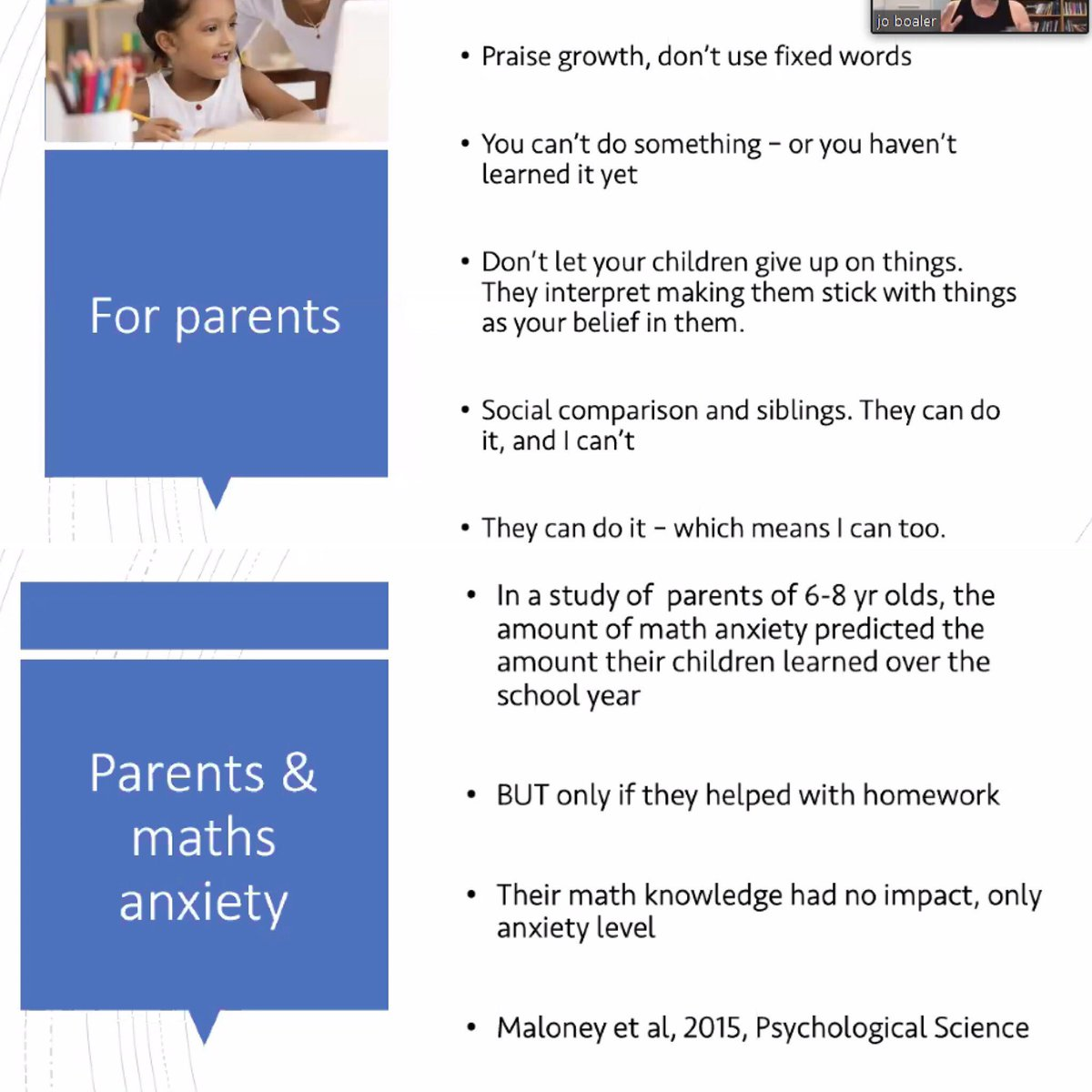 test Twitter Media - Advice for parents from @joboaler's webinar on #LimitlessMind I always learn something new. My biggest take away from this session was the difference between growth mindset and grit.  #everyonecanlearnmath https://t.co/h4C5HJvfTu