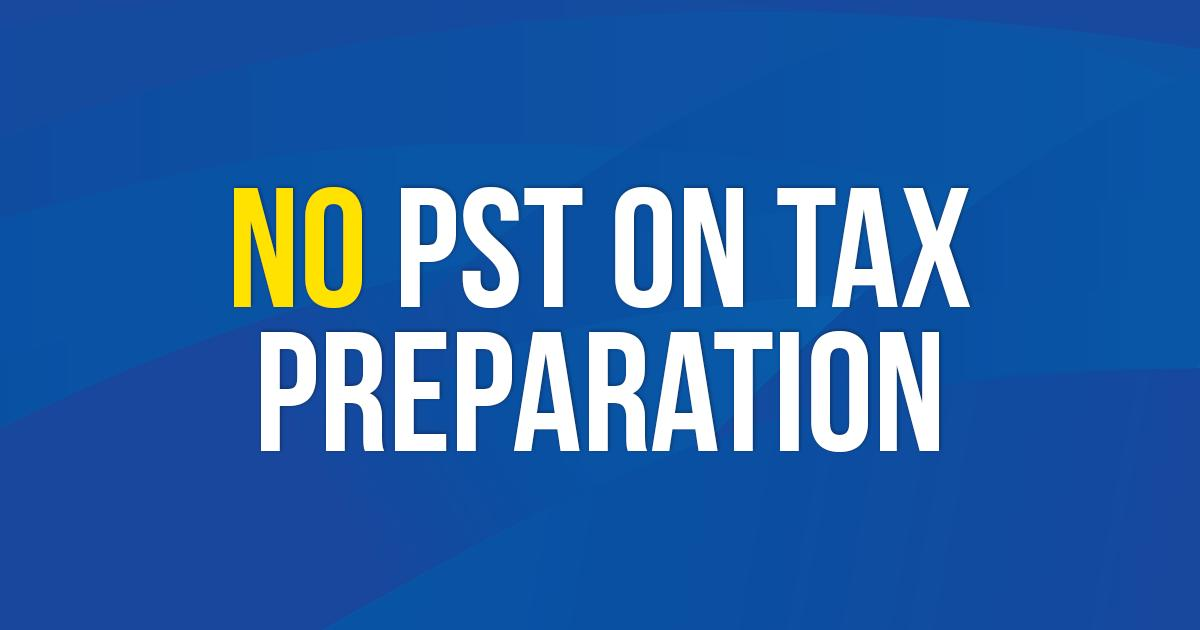 test Twitter Media - The NDP added insult to injury with this new tax. A re-elected PC government will eliminate the NDP's PST on the preparation of tax forms!  Details: https://t.co/b1SiFxcc52  #mbpoli #BetterMB https://t.co/dFqFratKVj