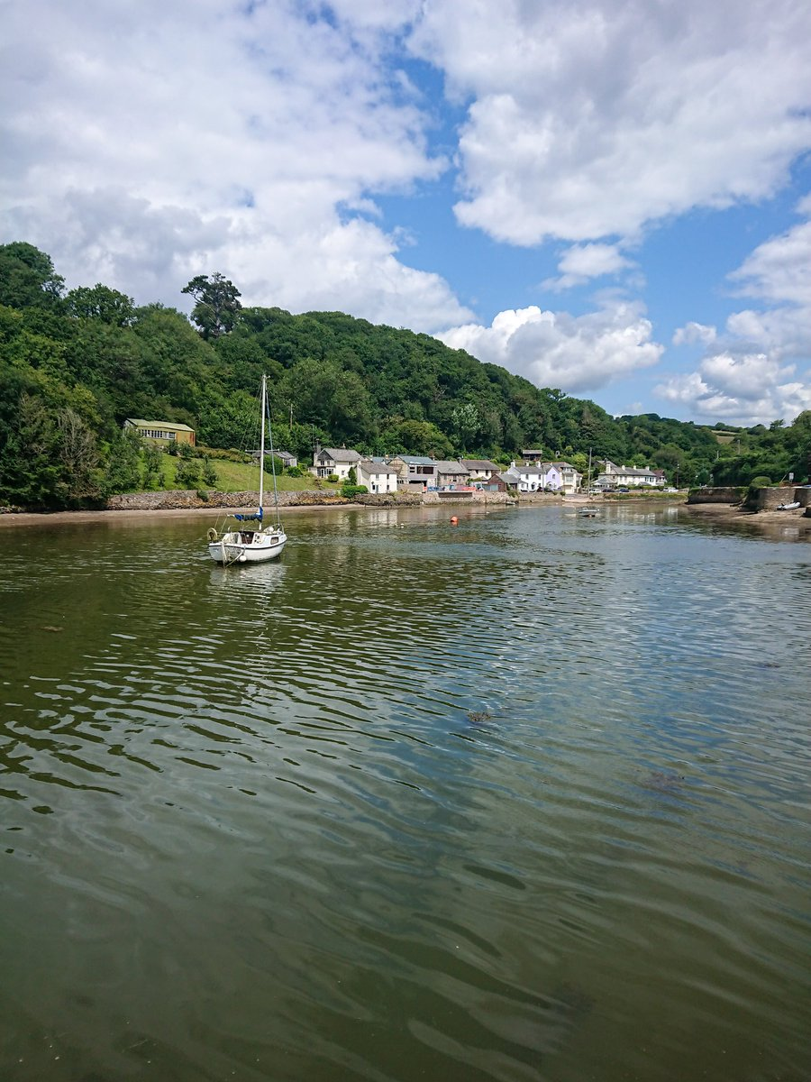 test Twitter Media - Newton Creek, at the end of the River Yealm Estuary, separates Newton Ferrers and Noss Mayo. A picturesque, and quite, location to watch the world go by under the blue skies and summer sunshine. #Devon #NossMayo #NewtonFerrers #Summer #Sun #Holiday #VisitDevon #VisitSouthDevon https://t.co/5TiX9RzoXi
