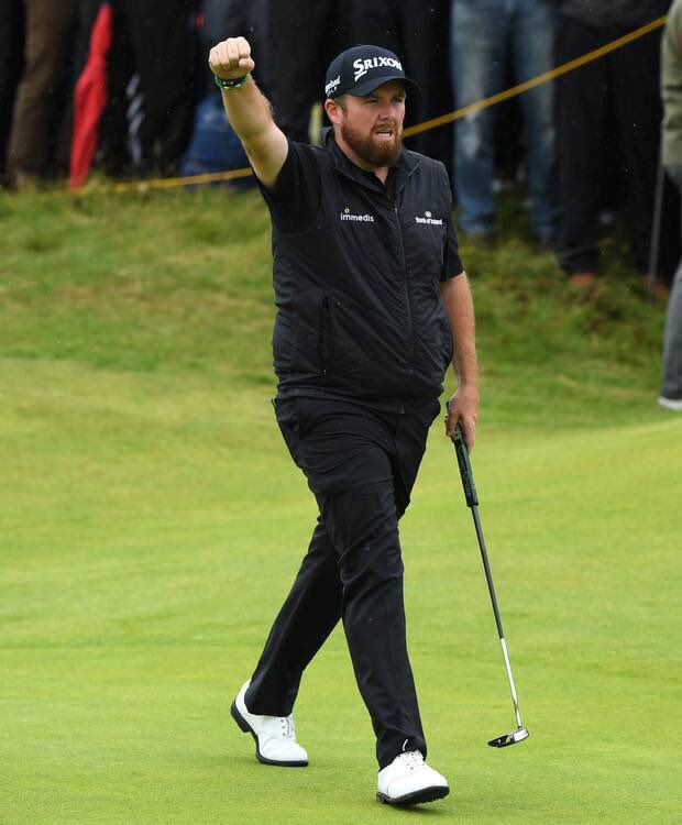 RT @IrishUnity: Comhghairdeas Shane Lowry.   Great to see an Irishman win a major in Ireland.  ????????⛳️????️‍♂️ https://t.co/W6kn7iXeiC