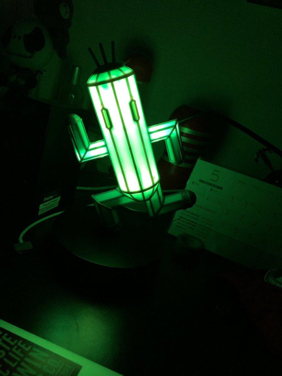 test ツイッターメディア - そういや光のお父さん見ててあ、これうちにもあったと思って初めて電気つけた。なかなか良い。 #光のお父さん #FF14 #サボテンダー https://t.co/ka9mNq6IsV