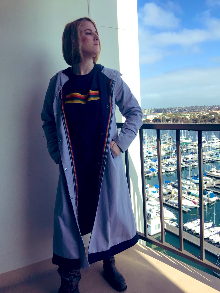 test Twitter Media - Lets get a shift on! @DoctorWho_BBCA #DoctorWho #JodieWhittaker #SDCC #Cosplay https://t.co/vAUBJiNYGc