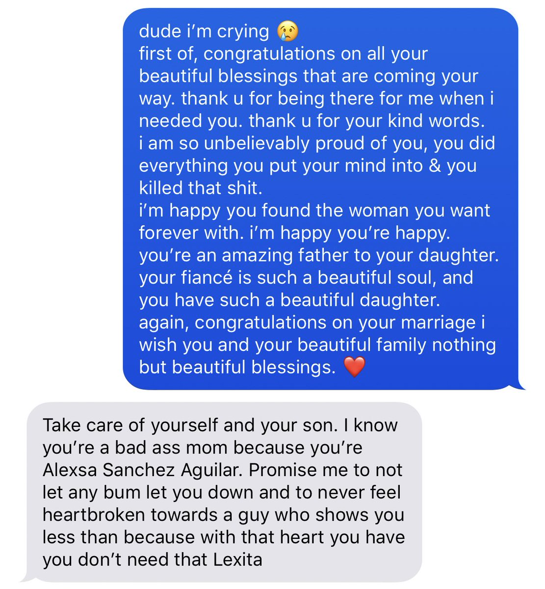 This Woman Got A Text From Her Ex Right Before His Wedding Day ...