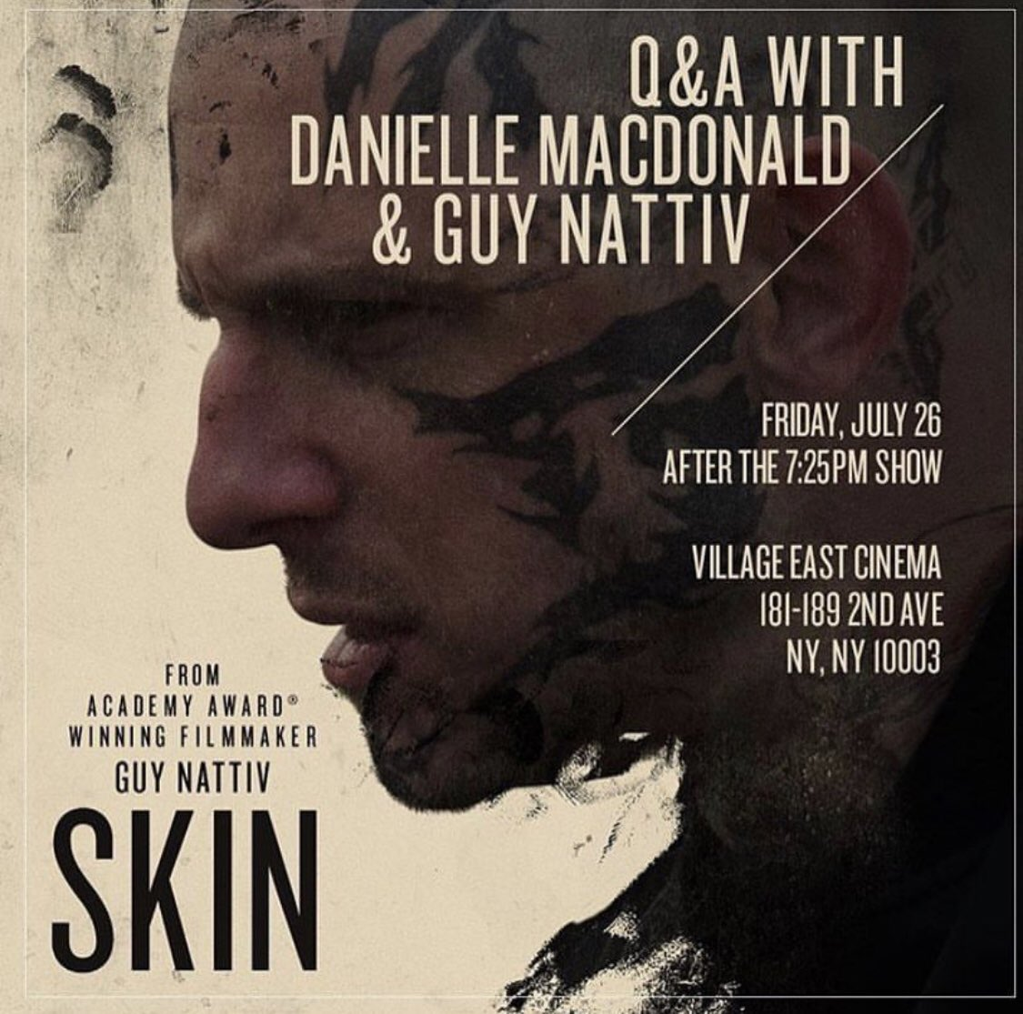 July 26! Opening weekend of SKIN THE FEATURE in LA (at The Royal) and NYC (Village East) https://t.co/x5wnOuEmYY