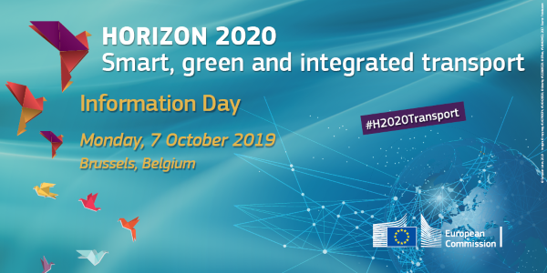 test Twitter Media - Horizon 2020 Transport info day Monday, October 7, 2019 - 09:30 - https://t.co/SPNiWUdbIc https://t.co/u9NoT3zGvJ
