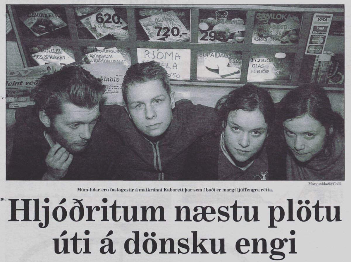 """test Twitter Media - """"recording our next album in  a danish meadow"""" - Newspaper article from 2000. https://t.co/kYVNO7bBPG"""
