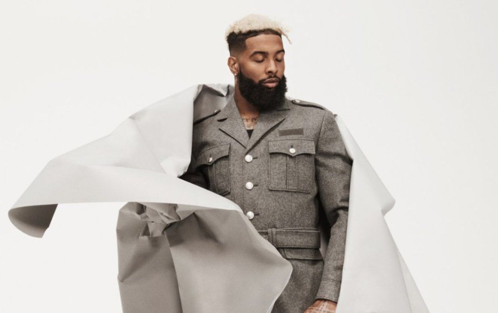 RT @trailsofsmoke: Odell Beckham Jr. covers GQ's August issue (Photos and Reactions) https://t.co/rG6LXJ0XIn https://t.co/NE3UKS0b2k
