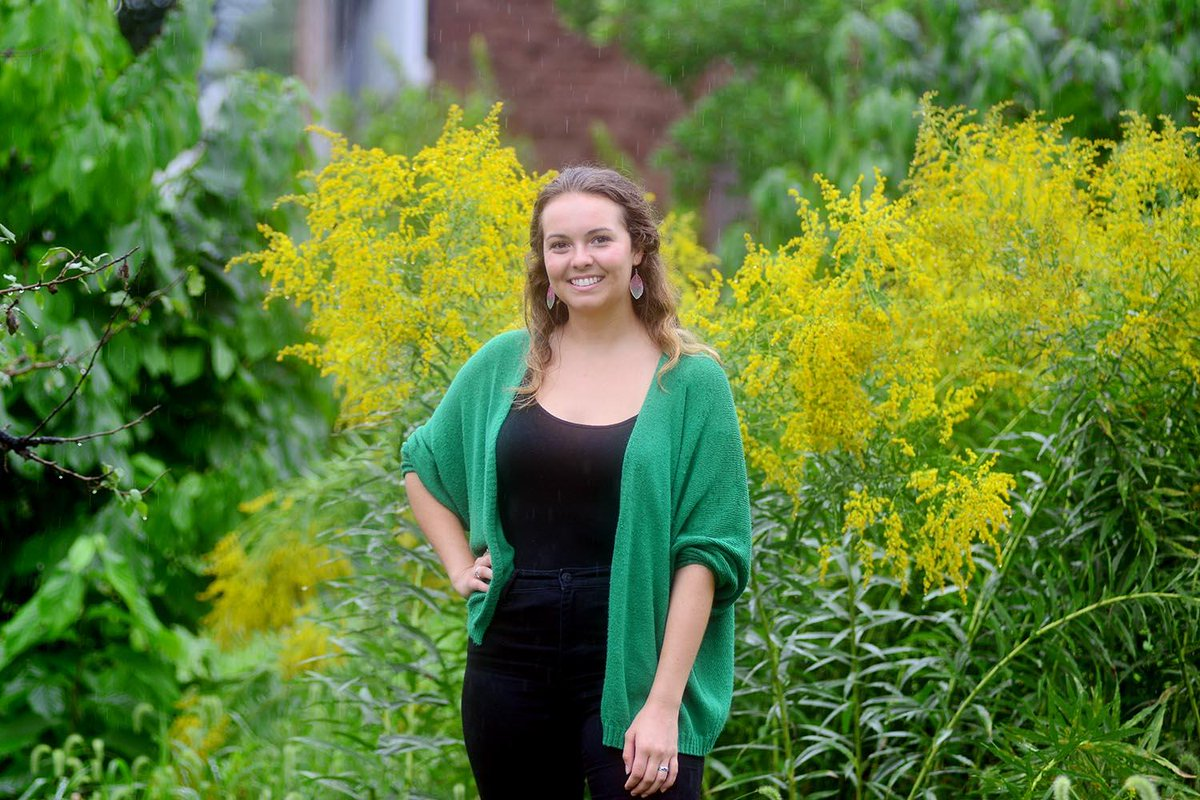 test Twitter Media - Ingrid Eck '19, sustainability coordinator for the city of Middletown, has her eyes set on silver. As in, silver-level certification from @SustainableCT for the city's efforts toward #sustainability and #resiliency. Read more in the @Middletownpress 🌱: https://t.co/CuCISCtv2B https://t.co/1jWaw06XSu