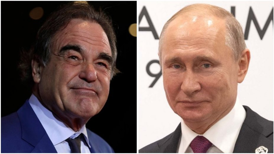 RT @THRGlobal: Oliver Stone asked Vladimir Putin to be his daughter's godfather