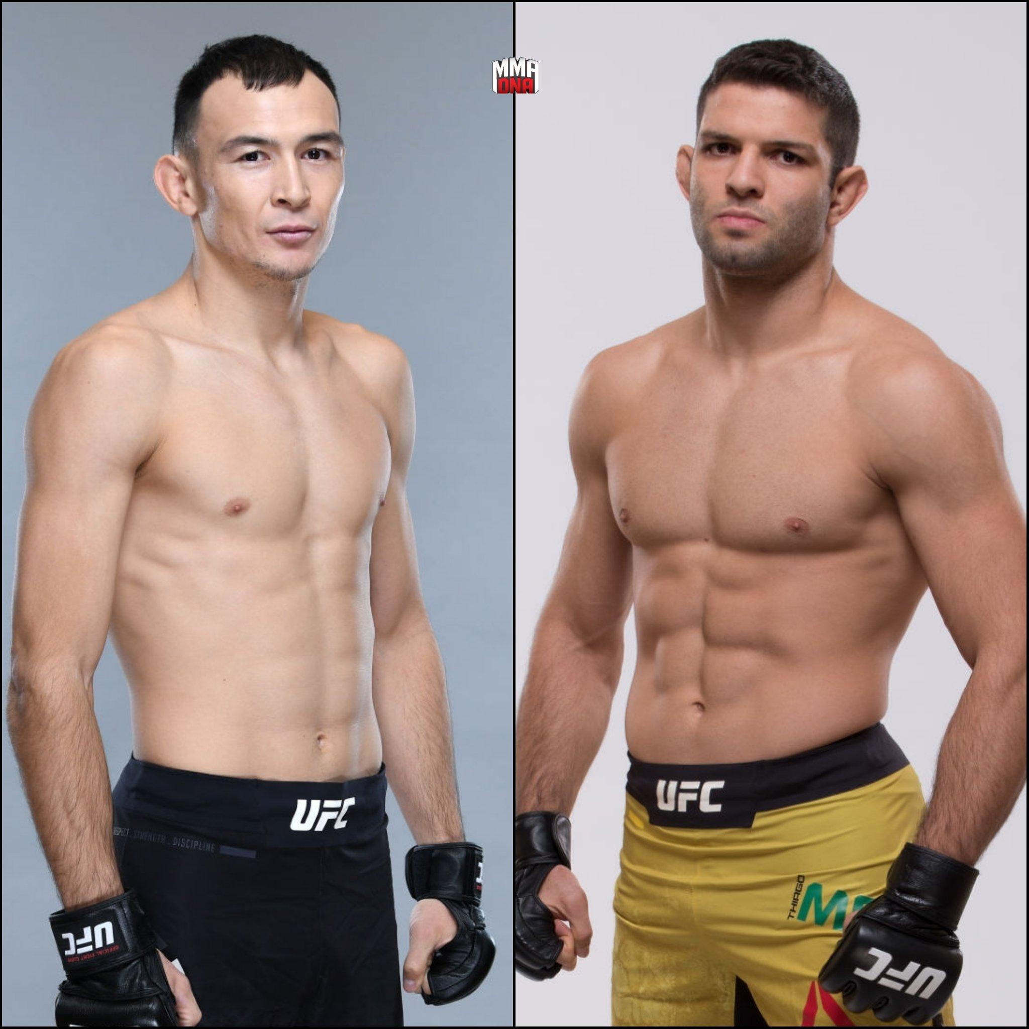 Damir Ismagulov will fight Thiago Moises at UFN 157 in Shenzhen, China. (Aug. 31, 2019). (per @MMAFighting) #UFC #UFCShenzhen #MMA #UFCESPN https://t.co/vi8swYAbn9