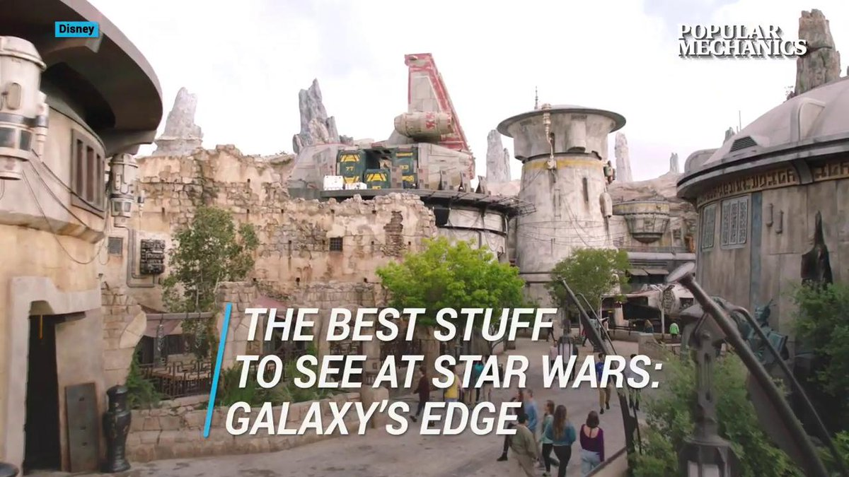 You won't believe how incredible the Star Wars: Galaxy's Edge park is.