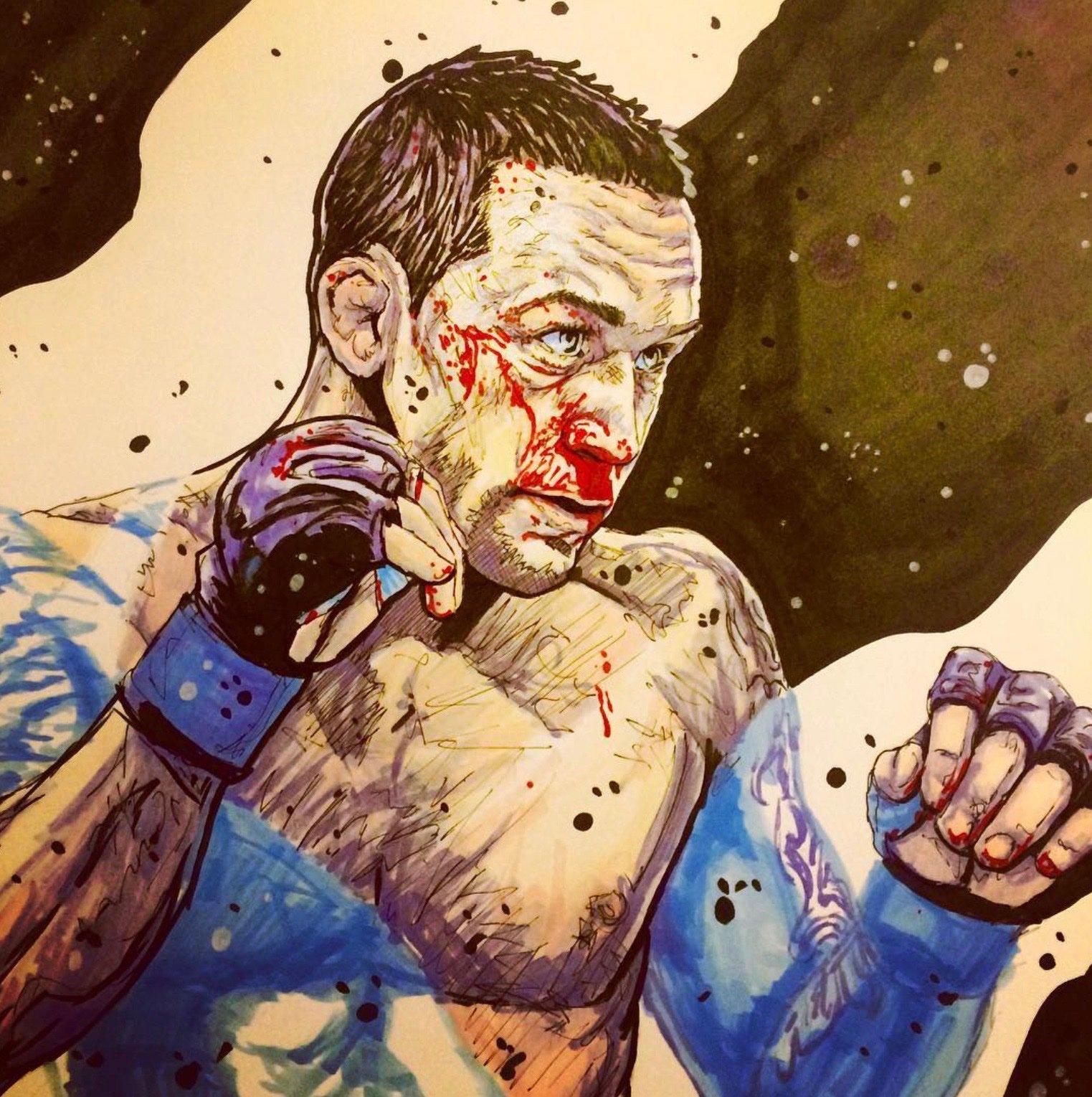 🔥 Team Edgar 🔥 Art by @GorillaTheBear #UFC #MMA #WMMA #TeamMMA4LIFE #PeoplesMMA #FrankieEdgar #UFC240 https://t.co/WhyohuPQrG