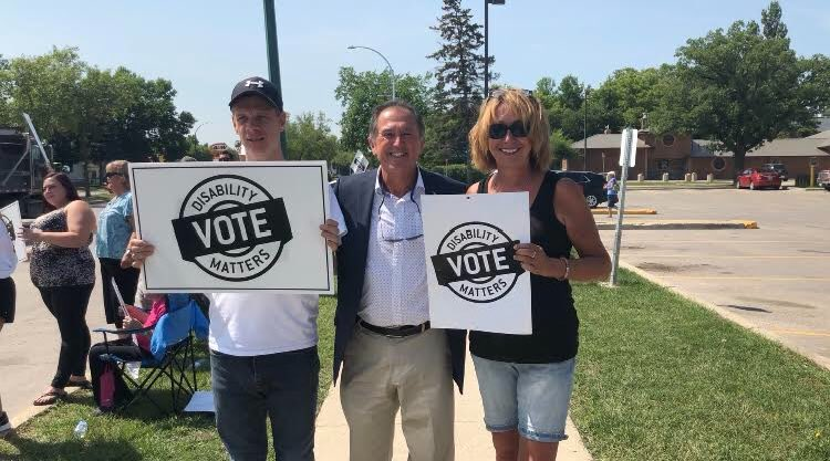 test Twitter Media - Honored to support Disability Votes in Selkirk today! Our government since taking office in 2016 has demonstrated commitment to the implementation of the Accessibility for Manitobans Act and to the full inclusion of Manitobans with disabilities. #mbpoli https://t.co/fPqIaP6NN6