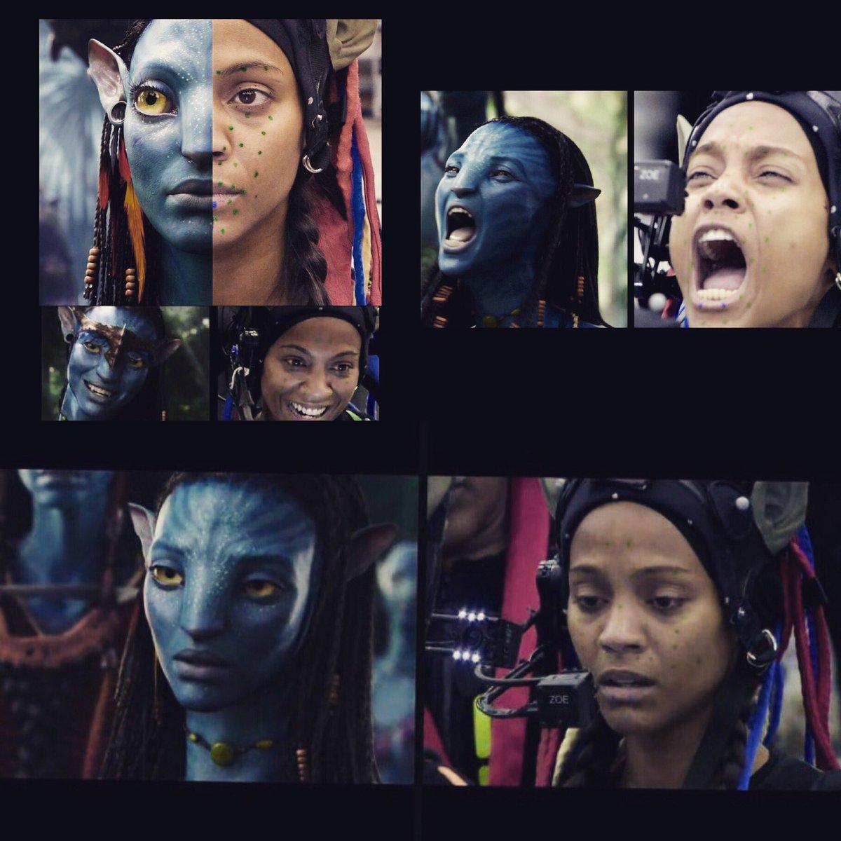 BTS of filming @officialavatar - transforming into Neytiri!  #transformationtuesday https://t.co/Qvy4VgSpRo