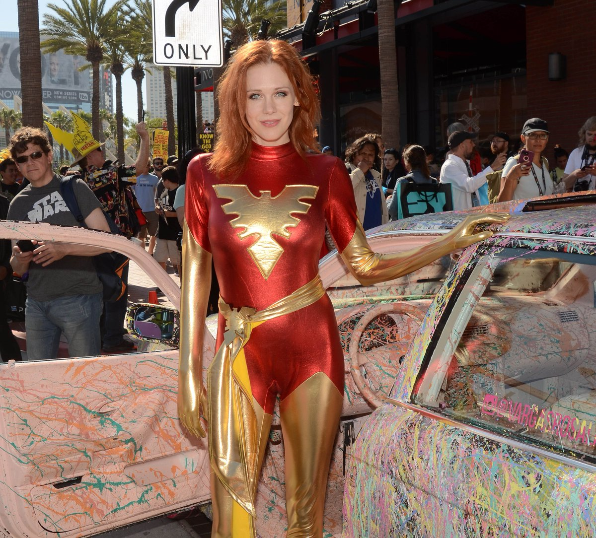 RT @egotastic: .@MaitlandWard is the sexiest cosplayer at @Comic_Con. Agreed or Agreed? ????  https://t.co/48ktksq2qe https://t.co/IfyPUCcBuq