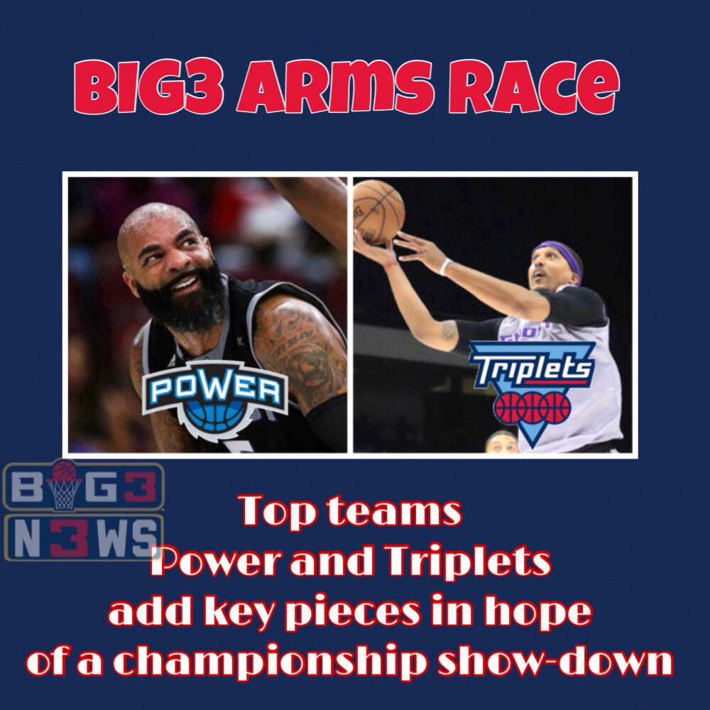 RT @Big3N3ws: POWER AND TRIPLETS ARE GOING FOR IT https://t.co/dzOoldSdeD