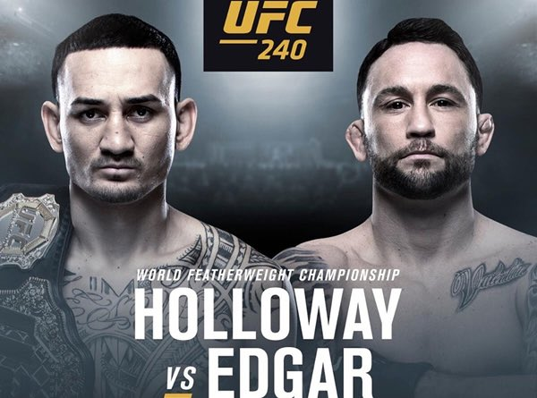 Don't miss UFC 240! Max Holloway and Frankie Edgar battle for the featherweight title. Plus, former featherweight women's champ Cris Cyborg takes on rising star Felicia Spencer. UFC 240 is LIVE on PPV July 27th at Richmond's!! #yyc #UFC240 #UFC #UFCfightnight #UFCbars #UFCPPV https://t.co/kMBnIfrdpO